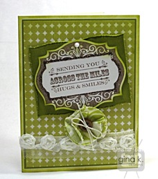 green & ivory labels