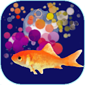 Goldfish scooping icon