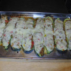Drop Dead Delicious Stuffed Zucchini