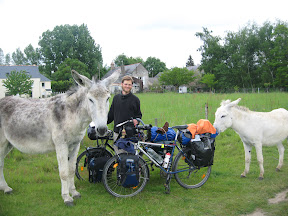Cyclo-wwoofing en France
