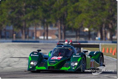 15-20.03.2010 Sebring International Raceway, USA, #8 Drayson Racing Lola B09 60 Judd: Paul Drayson, Jonny Cocker, Emanuele Pirro