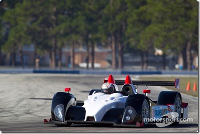 15-20.03.2010 Sebring International Raceway, USA, #89 Intersport Racing Oreca FLM09: Mitch Pagerey, Brian Wong, David Ducote