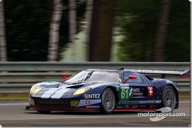 04-11.06.2010 Le Mans, France, #61 Matech Competition Ford GT: Natacha Gachnang, Rahel Frey, Cyndie Allemann