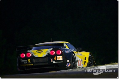 02.10.2010 Road Atlanta Motorsports Center, USA, #4 Corvette Racing Chevrolet Corvette ZR1: Oliver Gavin, Jan Magnussen, Emmanuel Collard