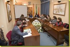 reunión alcaldes Cuenca - consejera OOPP 07
