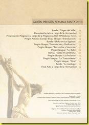 Guión Pregón 2010