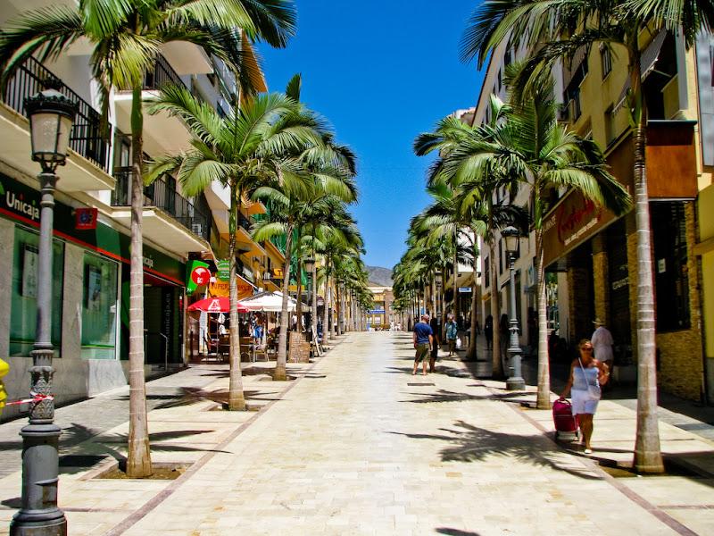 Benalmadena shopping street