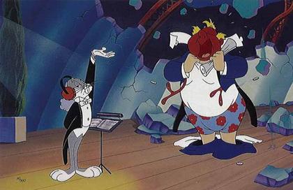 Bugs Bunny as Leopold Stokowski