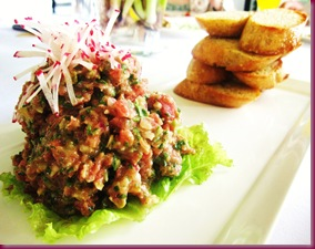 antonio's tagaytay steak tartare