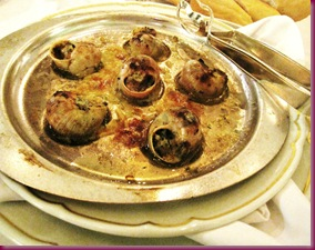 champagne room escargot