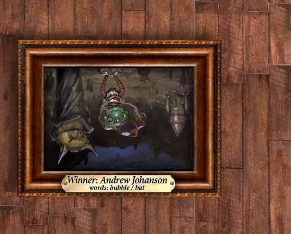 Andrew Johanson: bubble / bat