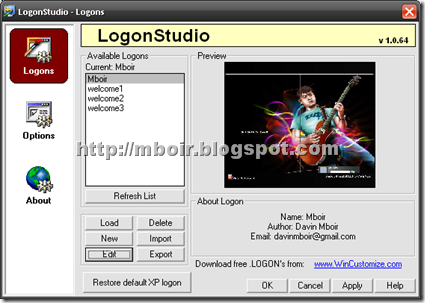 Logon Studio - mboir