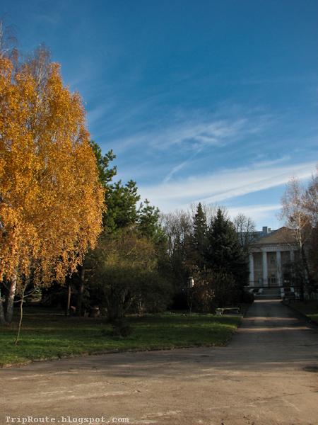 аллея ведущая к краеведческому музею