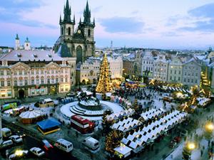 рождественская ярмарка 2010 в Праге