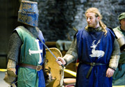 Средневековая рождественская ярмарка в Caerphilly