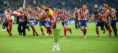 Atlético de Madrid campeón de la Europa League