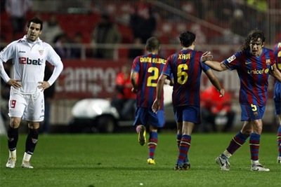 Semilla eliminó a Barcelona