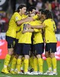 fBarcelona vence 1-0 al Sporting de Gijón