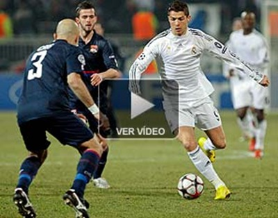 Olympique de Lyon vence 1-0 al Real Madrid, Copa Champions
