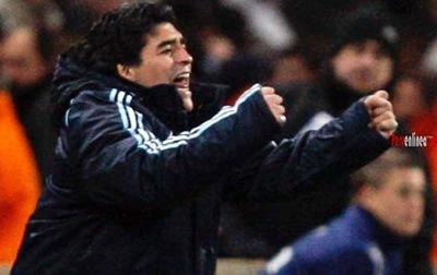 Maradona , Técnico de Argentina