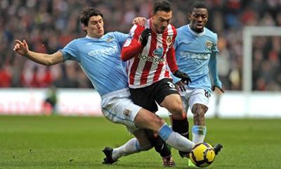 Sunderland vs Manchester City