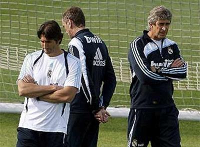 Manuel Pellegrini. técnico del Real Madrid