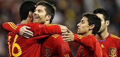 España venció a Argentina 2-1 en amistoso