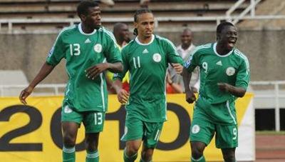 Nigeria ganó a Kenia 3-2 y clasificó al Mundial Sudáfrica 2010