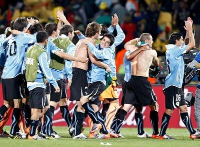 Uruguay clasifica para Octavos de final en primer lugar