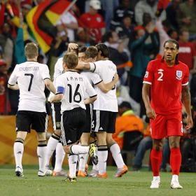 Alemania goleó a Inglaterra 4-1