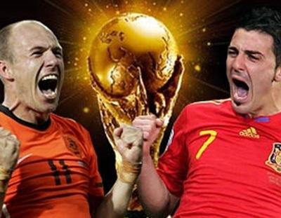 España - Holanda por el Título de la Copa Mundial de la FIFA