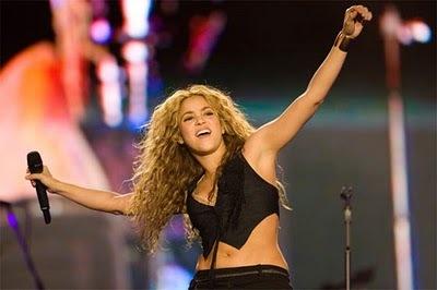 Shakira en la clausura del Mundial Sudáfrica 2010