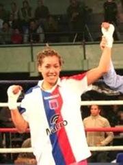 Erica Farías de Argentina