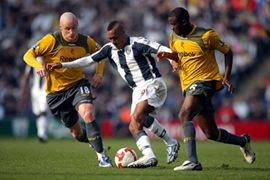 Bolton Wanderers vs. West Bromwich Albion