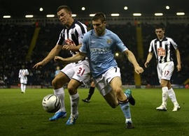 West Bromwich Albion vs.  Manchester City