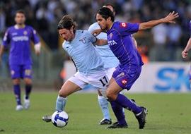 SS Lazio vs  Fiorentina Serie A de Italia