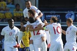Inglaterra enfrenta a Islandia  en partido amistosos Sub 21