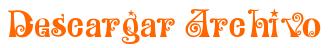 Botón anaranjado -descargar archivo-