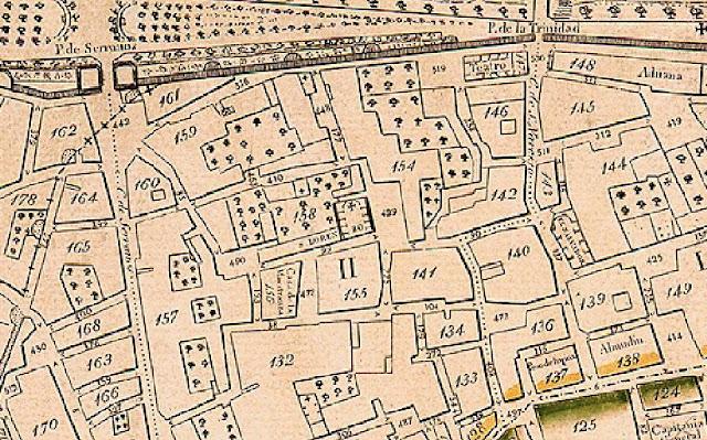 1835. Plànol Geomètic de Francesc Ferrer