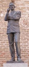 Estatua de Agustín Lara en Madrid