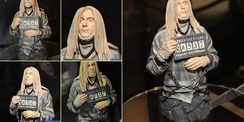 Exibir Mini-busto Lúcio Malfoy em Azkaban - SDCC10