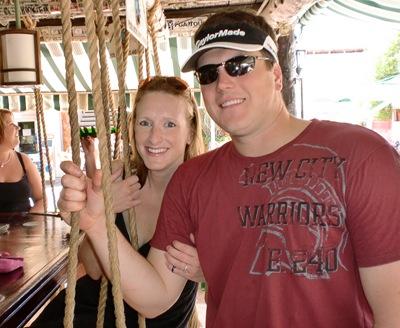 Brad & I mexico