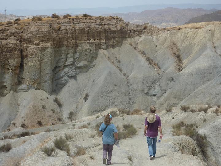 Tabernas desert scenery