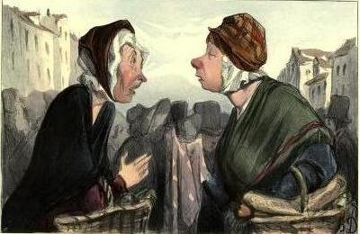 Illustration d'Honoré Daumier, 1904