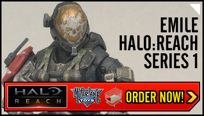 Halo reach action figures emile series 1