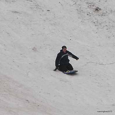 Nick_sledding