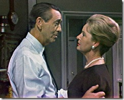 DAYS OF OUR LIVES -- NBC Daytime -- Pictured: (l-r) Macdonald Carey and Frances Reid -- NBC Universal Photo --  FOR EDITORIAL USE ONLY -- NOT FOR RESALE/DO NOT ARCHIVE