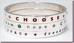 choose bracelet