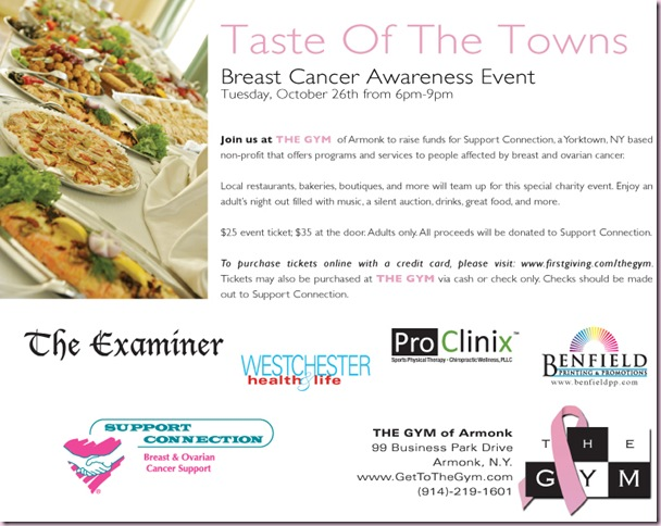 Taste of the Towns Flyer