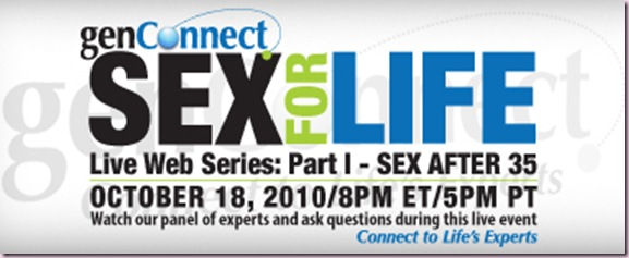 genConnect sex for life